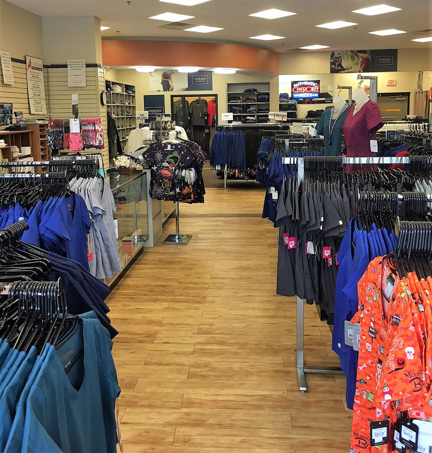 Chamberlain Lane/Highway 22 Cardinal Uniforms & Scrubs Overview from front
