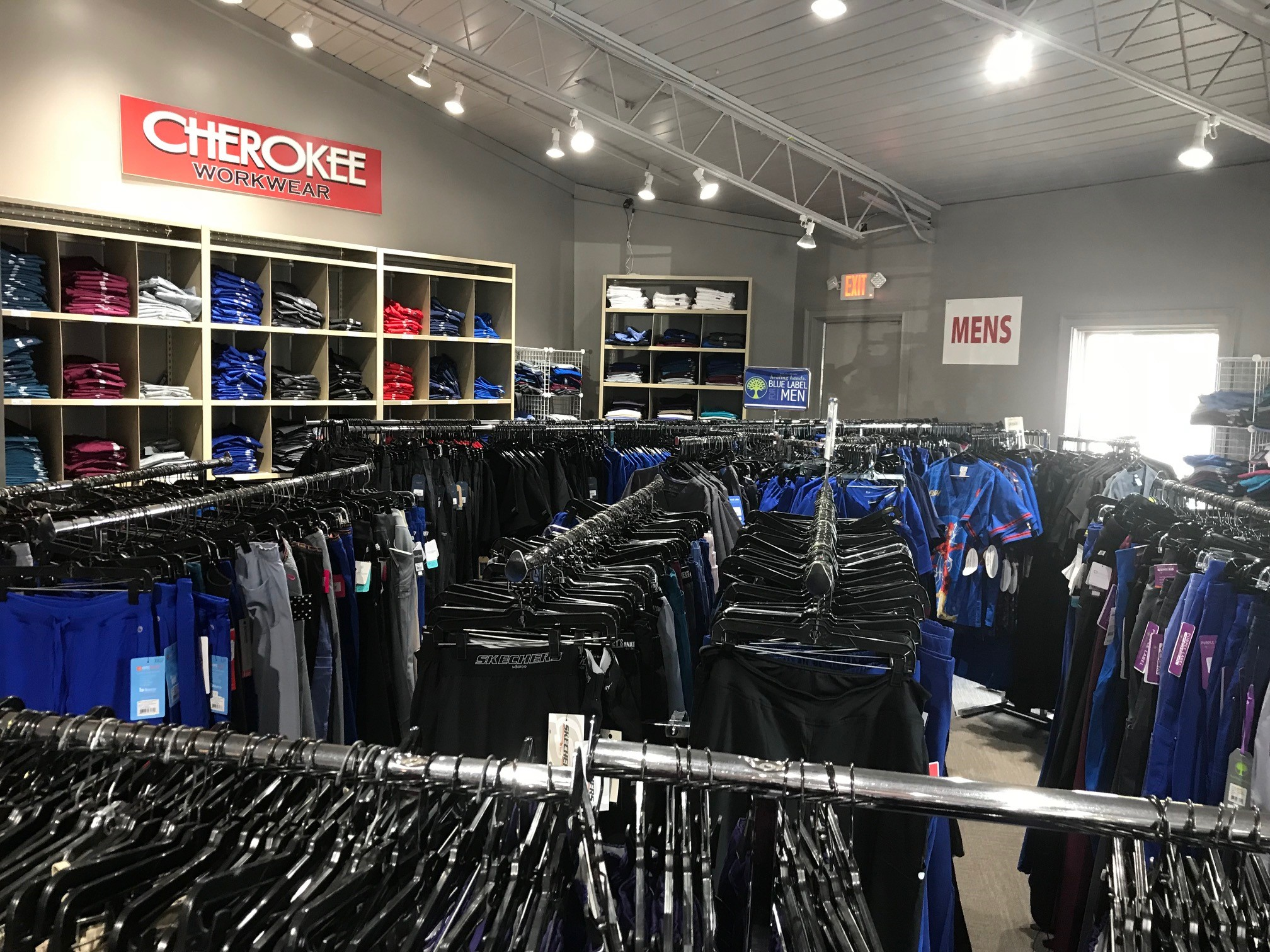 Dupont Circle Cardinal Uniforms & Scrubs Mens Area